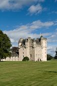 Castle Fraser In Scotland