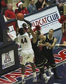 A Fouled Arizona Wildcat Solomon Hill