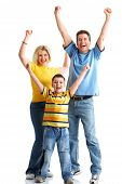picture of happy family  - Happy family - JPG