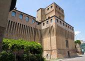 Castle of Music. Noceto. Emilia-Romagna. Italy.