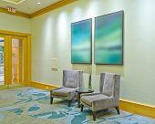 image of reception-area  - Lounge area of a hotel - JPG