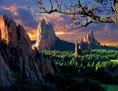Morning Light At Garden Of The Gods