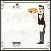 Main menu with waiter