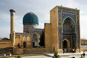Tamerlane Statue in Tashkent