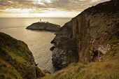 picture of anglesey  - South Stack lighthouse near Holyhead - JPG