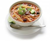 chicken tortilla soup, mexican cuisine