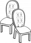 cadeiras elegantes