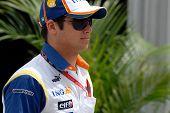 Nelson Piquet Jr, motorista da Renault F1 Racing Team