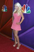 LOS ANGELES - JUL 27:  Christina Aguilera at the NBC TCA Summer Press Tour 2013 at the Beverly Hilto