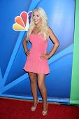 LOS ANGELES - JUL 27:  Christina Aguilera at the NBC TCA Summer Press Tour 2013 at the Beverly Hilton Hotel on July 27, 2013 in Beverly Hills, CA