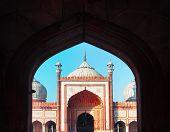 Indian Landmark - Jama Masjid Mosque poster
