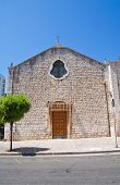 Church of Carmine. Putignano. Puglia. Southern Italy.