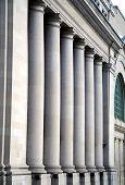 Pillars At Canadian Government Building