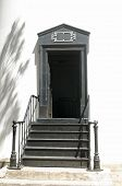 Entry Doorway with Steps