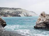 Lugar de nacimiento de Afrodita (petra Tou Romiou), Paphos, Chipre