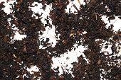 Tea Powder Background