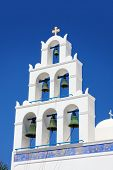 Beautiful Oia, Church In Santorini Island