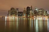 Lower Manhattan's nachts, New York City