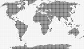 Mosaic Of World Map