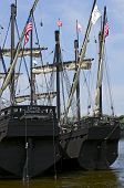 Nina And Pinta Ship Replicas In Winona