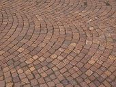 foto of porphyry  - Red porphyry stone floor useful as a background - JPG