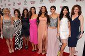 Melinda Page Hamilton, Susan Lucci, Judy Reyes, Ana Ortiz, Dania Ramirez, Roselyn Sanchez and Edy Ga