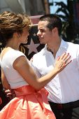 Jennifer Lopez and Casper Smart at the Jennifer Lopez Star on the Walk of Fame ceremony, Hollywood, CA 06-20-13