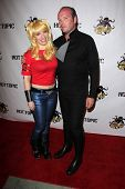 Vera VanGuard, Jamin Fite at the Comikaze red carpet Launch Party, Whimsic Alley, Los Angeles, CA 06-21-13