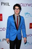 Darren Criss at the Hollywood Bowl Hall of Fame Opening Night, Hollywood Bowl, Hollywood, CA 06-22-13