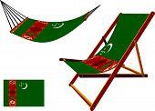 Turkmenistan Hammock And Deck Chair