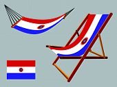 Paraguay Hammock And Deck Chair Set