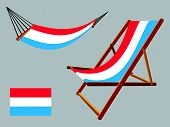 Luxembourg Hammock And Deck Chair Set