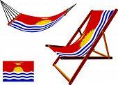 Kiribati Hammock And Deck Chair Set