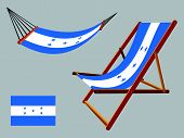 Honduras Hammock And Deck Chair Set