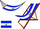 El Salvador Hammock And Deck Chair Set