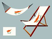 Cyprus Hammock And Deck Chair Set