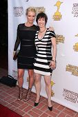 Laurie Holden and Gale Anne Hurd at the 39th Annual Saturn Awards, The Castaway, Burbank, CA 06-26-1
