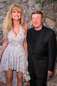 Laurene Landon and Larry Cohen at the 39th Annual Saturn Awards, The Castaway, Burbank, CA 06-26-13