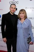 Rob James-Collier and Phyllis Logan at