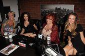 Mary Carey, Erika Jordan, Kitten Natividad and Jessica Kinni at