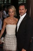 Demian Bichir and wife Lisset Gutierrez at