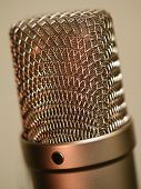Large Diaphragm Microphone Macro