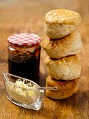 Stack Of Scones