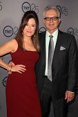 Mary McDonnell and Tony Denison at the TNT 25th Anniversary Party, Beverly Hilton Hotel, Beverly Hil