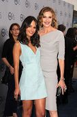Jordana Brewster and Brenda Strong at the TNT 25th Anniversary Party, Beverly Hilton Hotel, Beverly