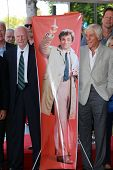 Dabney Coleman and Dick Van Dyke at the Peter Falk Star on the Hollywood Walk of Fame Ceremony, Holl