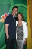 Sean Hayes and Linda Lavin at the NBC Press Tour, Beverly Hilton, Beverly Hills, CA 07-27-13