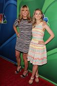 Mary McCormack and Ella Rae Peck at the NBC Press Tour, Beverly Hilton, Beverly Hills, CA 07-27-13