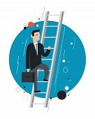 Business Leader Concept Illustration