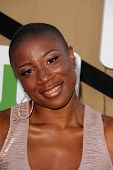 Aisha Hinds at the CBS, Showtime, CW 2013 TCA Summer Stars Party, Beverly Hilton Hotel, Beverly Hill